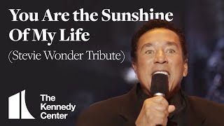 You Are the Sunshine Of My Life (Steve Wonder Tribute) -Smokey Robinson- 1999 Kennedy Center Honors