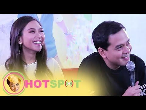 Hotspot 2017 Episode 1056: John Lloyd Cruz, paano nga ba inilarawan si Sarah Geronimo in 3 words?