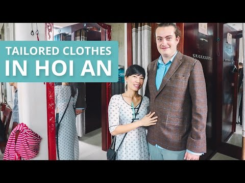 TAILORED CLOTHES IN HOI AN
