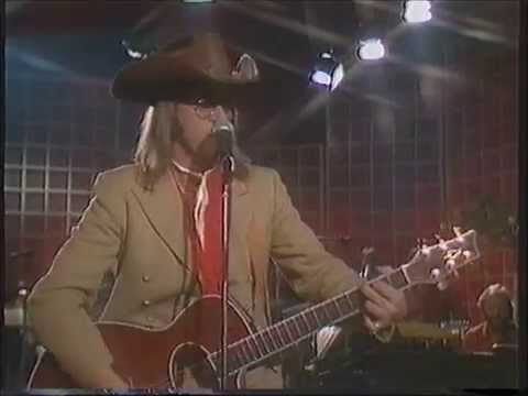 Doug Sahm - Mats Rådbergs TV-program Country Palace 1982, Stockholm in Sweden.