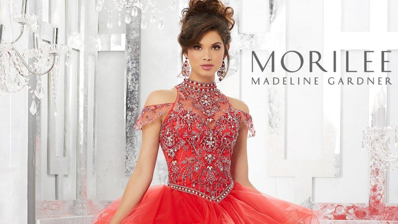 0341a98cd18 Vizcaya Quinceanera Dresses - YouTube