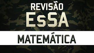 Revisão para EsSA - Matemática - Prof. Rodrigo Menezes