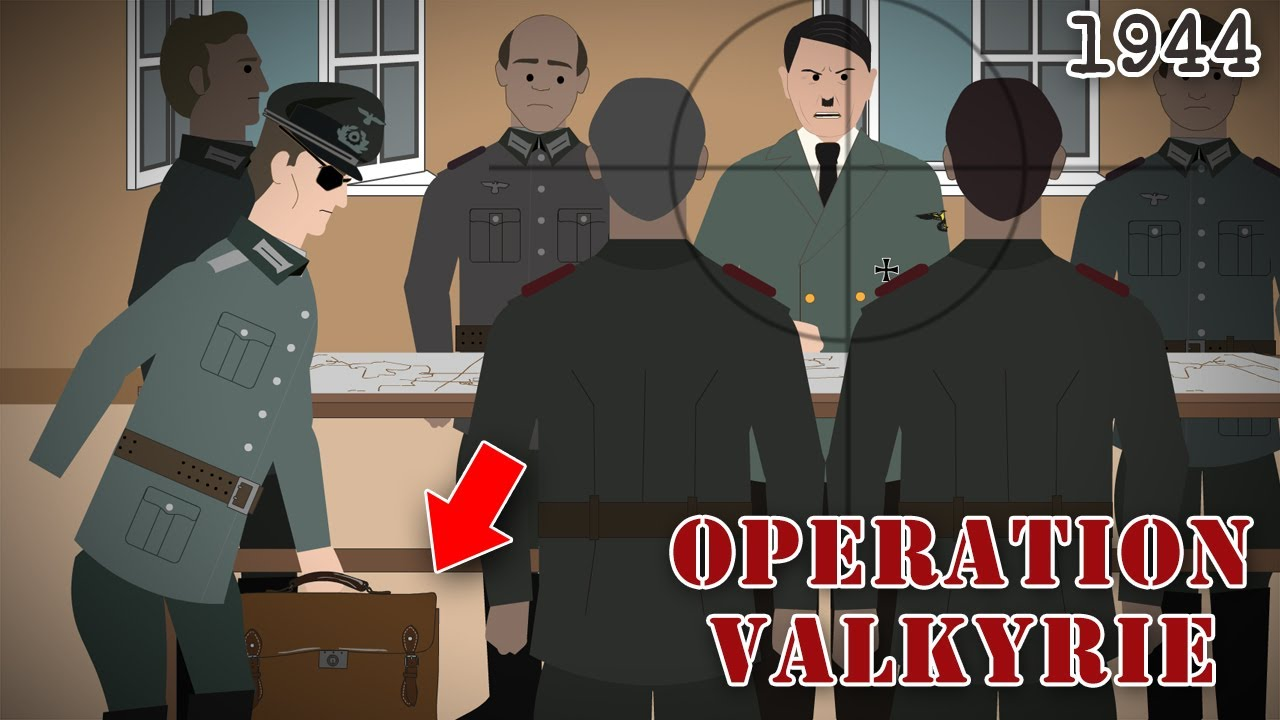 The Plot to Kill Hitler (Operation Valkyrie, 1944)