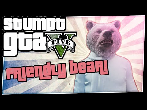 GTA 5 Online - #38 - Friendly Bear! (GTA V Every Bullet Counts )