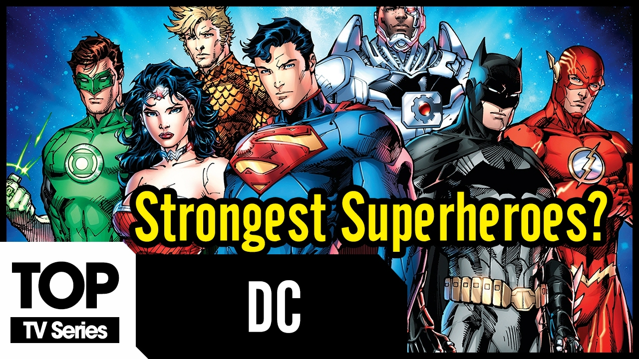 Top 10 most powerful superheroes 12