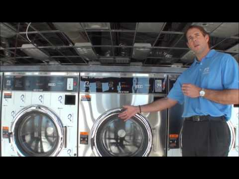 Laundry Equipment: Dexter T-750 With Emergency Stop Button