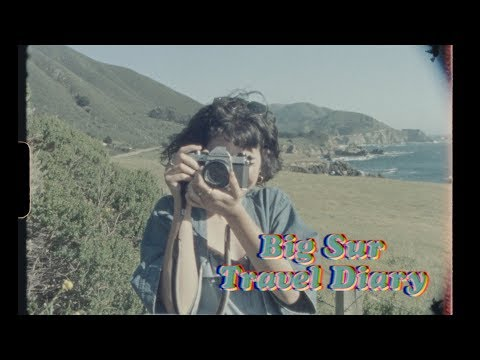 Big Sur Roadtrip • Travel Diary (Super 8)