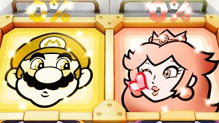 Super Mario Party MiniGames - Peach Vs Mario Vs Rosalina Vs Luigi (Master Cpu)