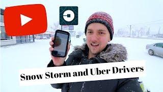 Snow Storm vs Uber Drivers