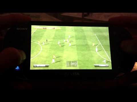 Gameplay Fifa 13 | Real Madrid Vs Barcelona. PsVita