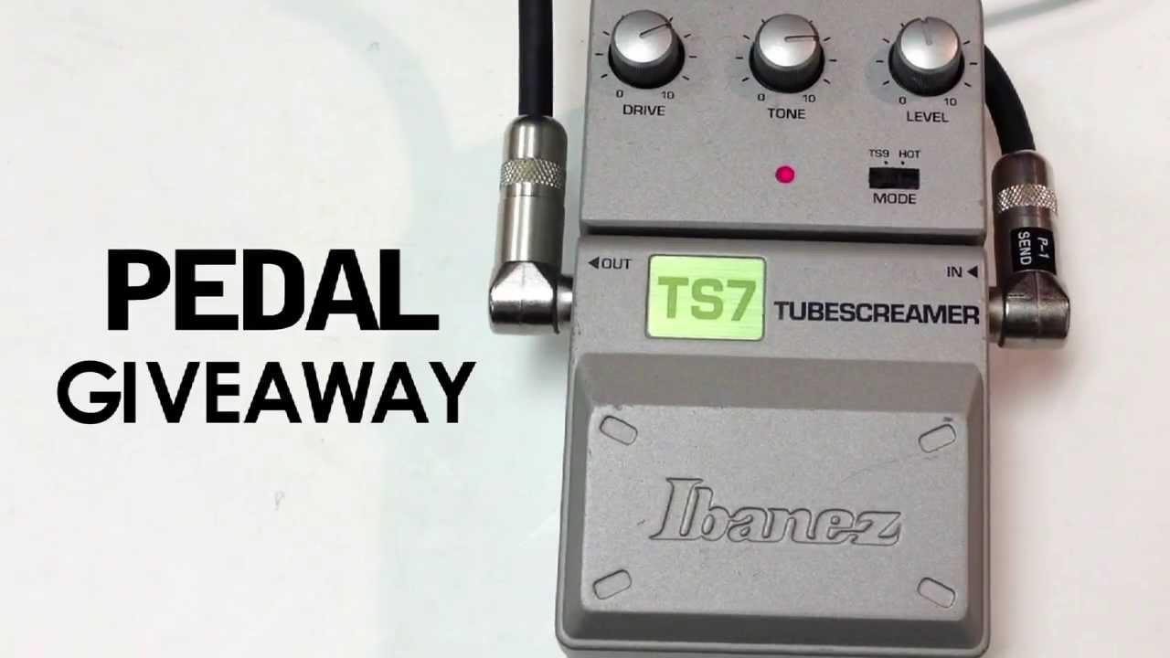 Pedal Giveaway Ibanez Ts7