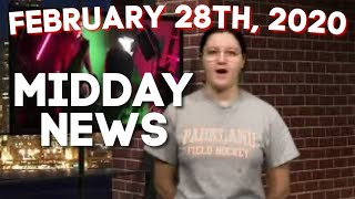 February 28th, 2020 | Parkland Midday News