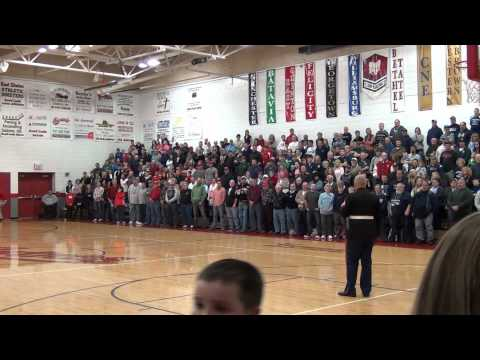 Mike Strahle Speaks to East Clinton High School - January 13th 2012