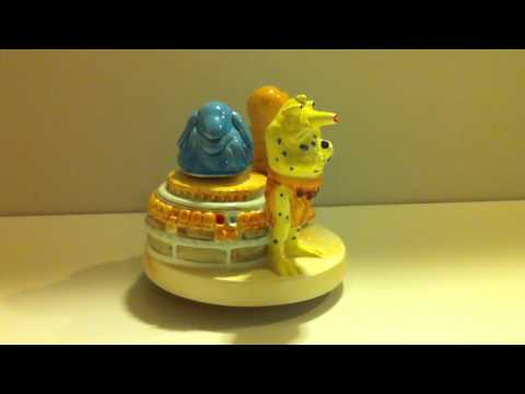 Vintage Sigma Ceramics Sy Snoodles and the Rebo Band Music Box (Star Wars: Return of the Jedi)