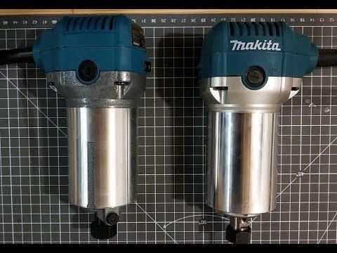 Katsu vs Makita RT0700 routers - Are they basically the same?