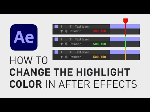 How to change the color theme in After Effects