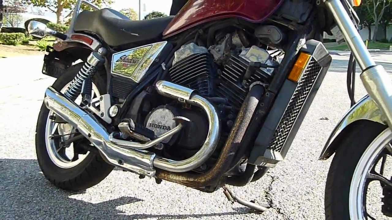 1983 Honda Vt 500 C Shadow Youtube Motorcycle