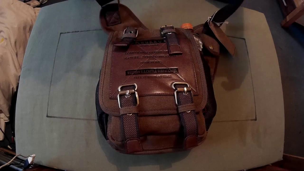 Kaukko Men S Sling Bag For E D C B O