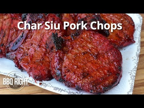 Char Siu Pork Chops
