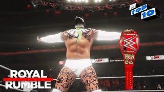 WWE 2K19 Royal Rumble 2019 Top 10 Predictions!
