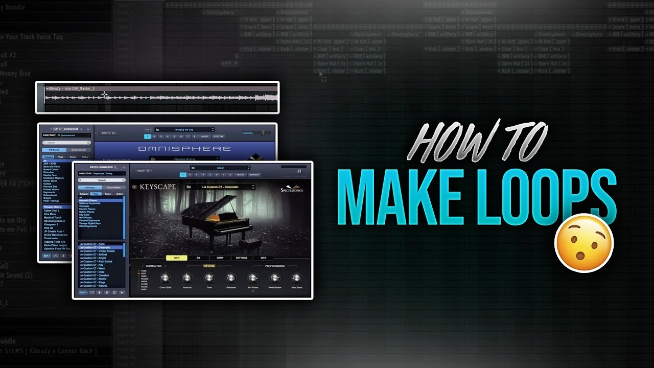 How to Make Loops (Melody Tutorial FL Studio)