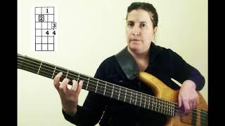 Bass Guitar for Beginners: II-V-I