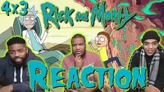 Rick and Morty Season 4 Episode 3 REACTION!! One Crew Over The Crewcoo's Morty
