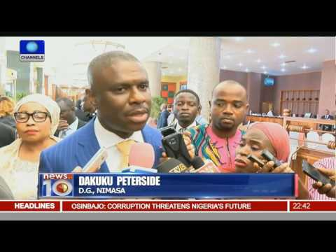 News@10: Minister Upbeat About Revamping Maritime Sector 17/05/16 Pt. 3