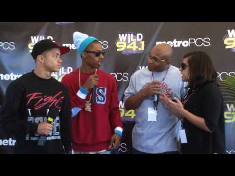 WiLD 94-1's WiLDSplash 2010 interview backstage with the New Boyz