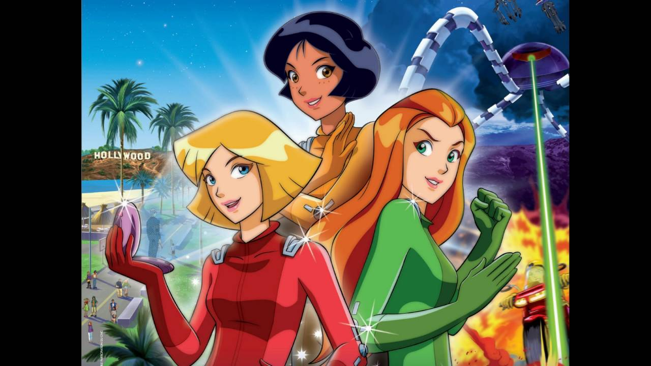 sonnerie poudrier totally spies