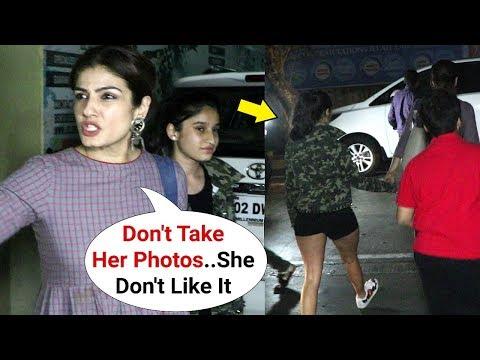 Raveena Tandon Daughter Rasha Is Camera Shy!