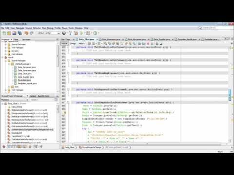 Membuat Aplikasi Apotik Dengan Java
