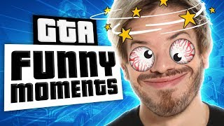 GTA Funny Moments: Punching In A Dream!