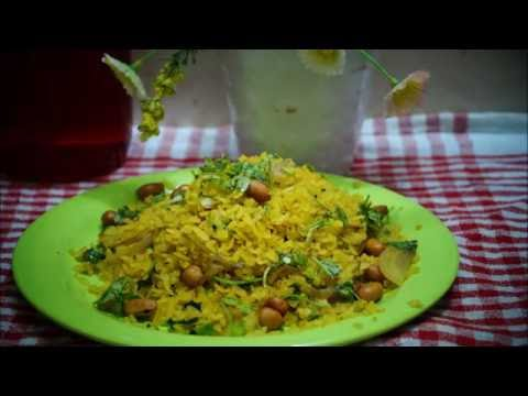 How to make Quick and Easy Poha Recipe, Cooked Flattened Rice, Indian breakfast recipes