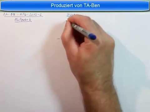 Industriemeister Prüfung Basisqualifikation NTG 2013 2