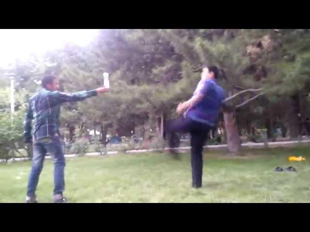 Taekwondo Kick fail
