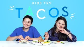 Kids Try Tacos from Around the World | Kids Try | HiHo Kids