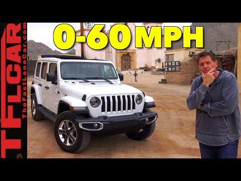 How Fast Is The New 2018 Jeep Wrangler JL?
