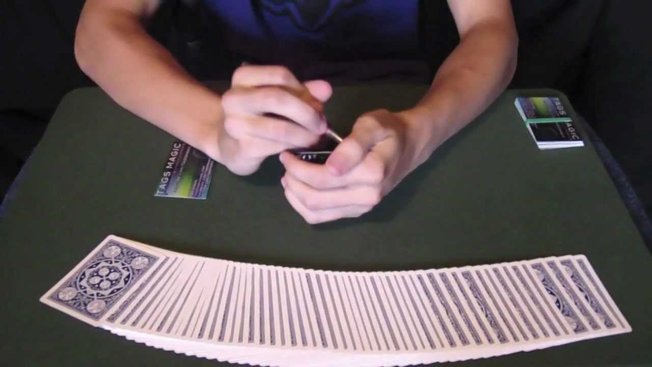 Business Card Magic Trick Tutorials Youtube