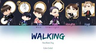 Vixx(빅스) - 걷고있다 (walking) han|rom|eng color coded lyrics