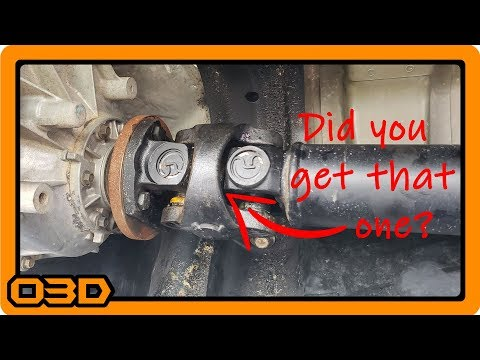 Repeat How To Grease Your Driveshaft On Your Toyota Tacoma