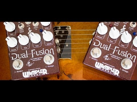 wampler pedals dual fusion tom quayle demo youtube. Black Bedroom Furniture Sets. Home Design Ideas