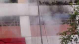 黄大仙区大成街街市失火2