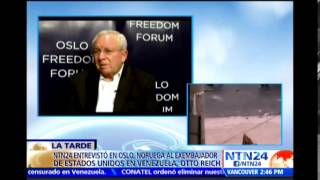Otto Reich afirma que países latinoamericanos se han