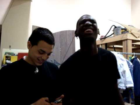 Bayonne High School: Vonny and Danny Singing =]