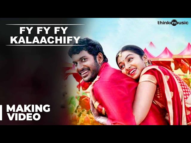 Pandiyanaadu - Making of Fy Fy Fy Kalaachify Song Travel Video