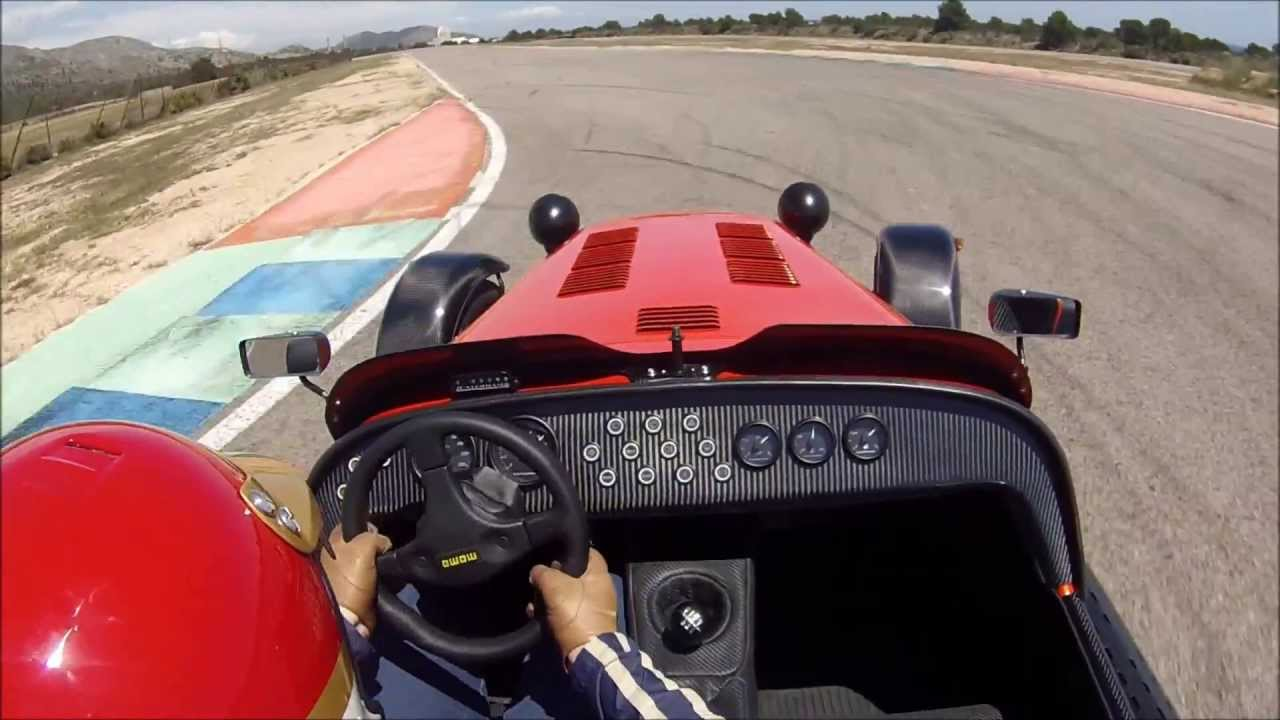caterham seven 485 s 2013 calafat circuit youtube. Black Bedroom Furniture Sets. Home Design Ideas
