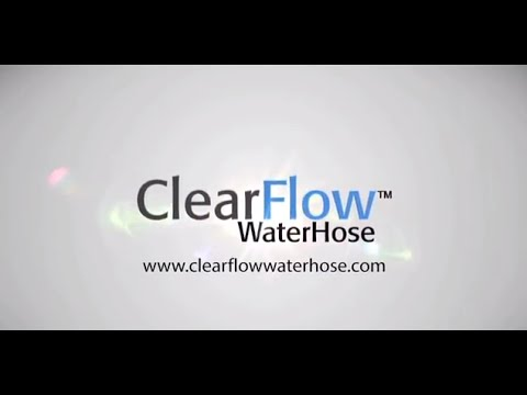 Best Rubber Free Short Garden Hose Review 25 Ft | Clear Flow Hose   YouTube