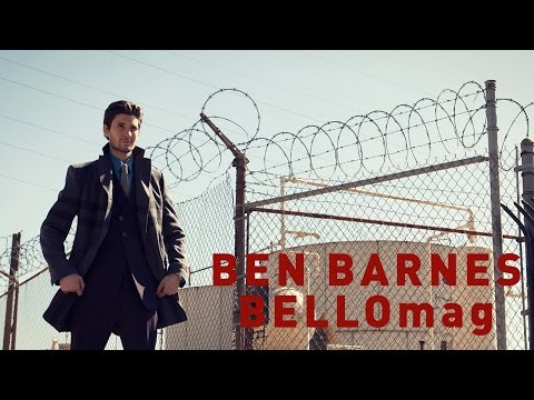 Ben Barnes for BELLO mag #BTS & Interview