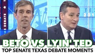 Beto O'Rourke Nails Lyin' Ted In Texas Senate Debate